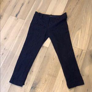 Ann Taylor Ankle Lace Pants